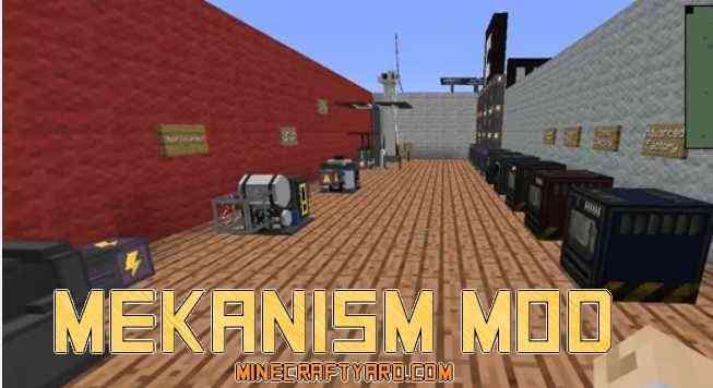 Mekanism Mod 1.14.3/1.13.2/1.12.2/1.11.2