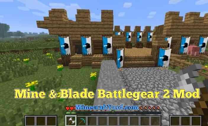 Mine & Blade: Battlegear 2 1.16.2/1.16.1/1.15.2