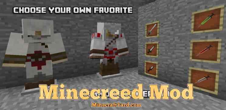 Minecreed Mod 1.16.3/1.15.2