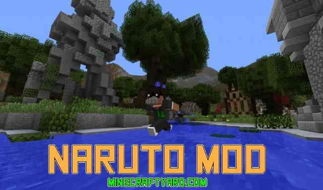 Naruto Mod 1.16.3/1.15.2