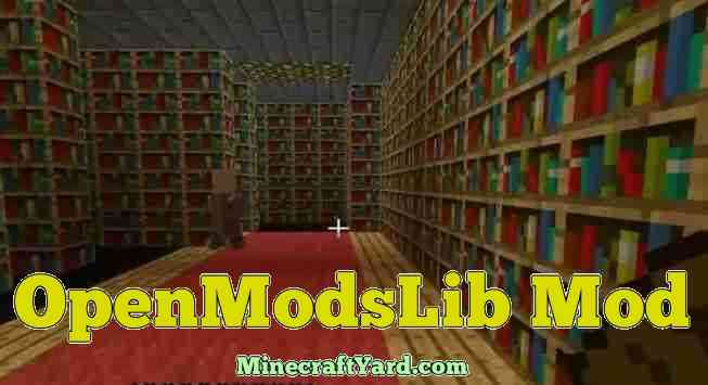 OpenModsLib Mod 1.16.3/1.15.2