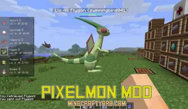 minecraft pixelmon 1.10 2 download