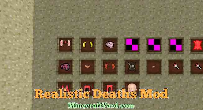 Realistic Deaths Mod 1.16.5/1.15.2