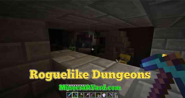 Roguelike Dungeons Mod 1.14/1.13.2/1.12.2/1.11.2