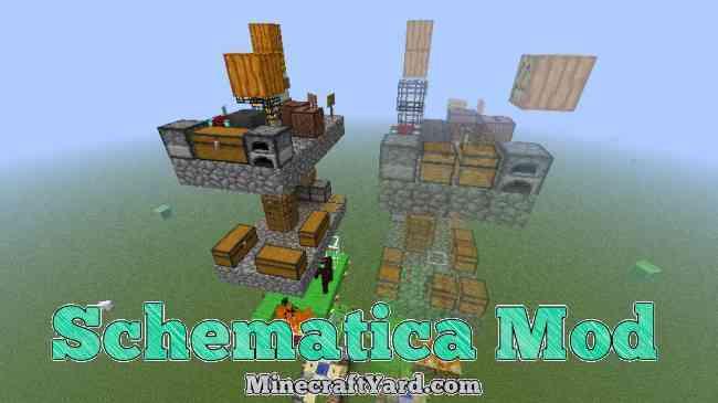 Schematica Mod 1.14/1.13.2/1.12.2/1.11.2