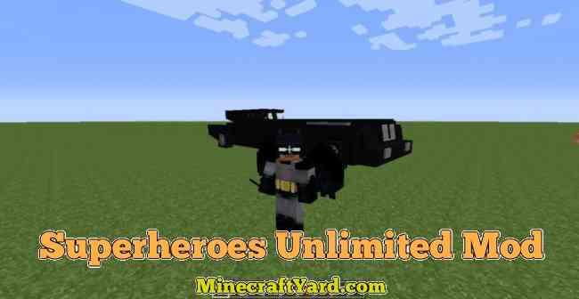 Superheroes Unlimited Mod 1.16.5/1.15.2