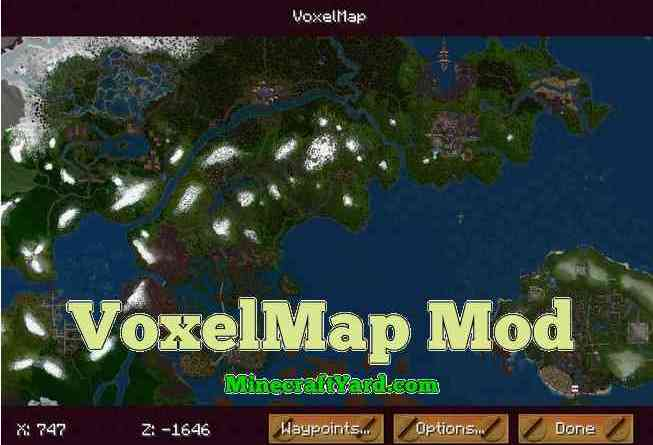 Voxel Map 1.14.4/1.13.2/1.12.2/1.11.2