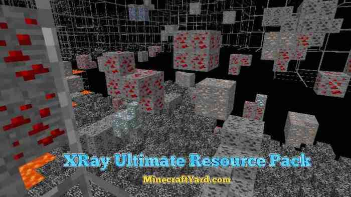 XRay Ultimate Resource Pack 1.16.3/1.16.2/1.15.2