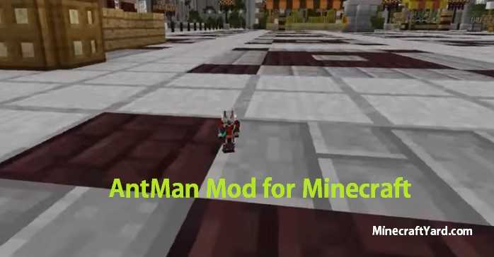 AntMan Mod 1.14/1.13.2/1.12.2/1.11.2