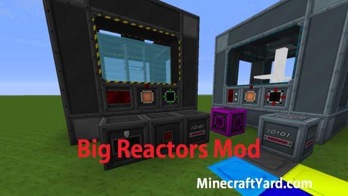 Big Reactors Mod 1.16.2/1.16.1/1.15.2