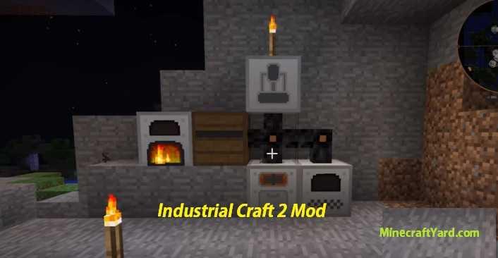 Industrial Craft 2 Mod 1.14/1.13.2/1.12.2/1.11.2