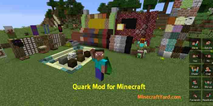 Quark Mod 1.14/1.13.2/1.12.2/1.11.2