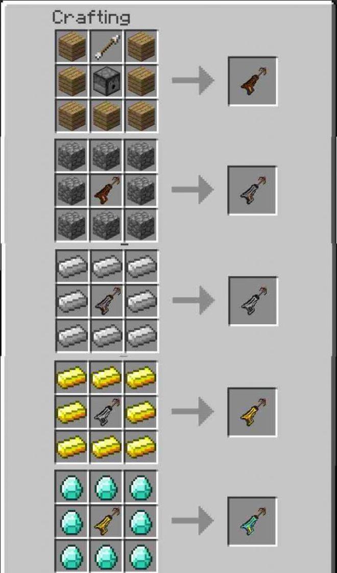 Grapple Hooks Mod Recipe