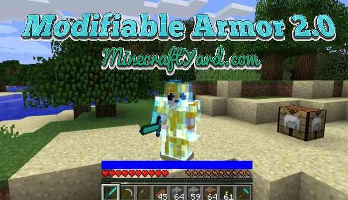 Modifiable Armor 2.0 1.15.2/1.14.4/1.13.2