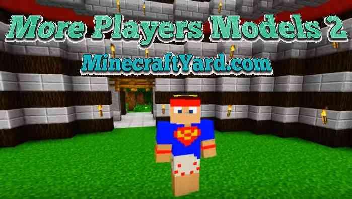 More Player Models 2 Mod 1.16.5/1.15.2