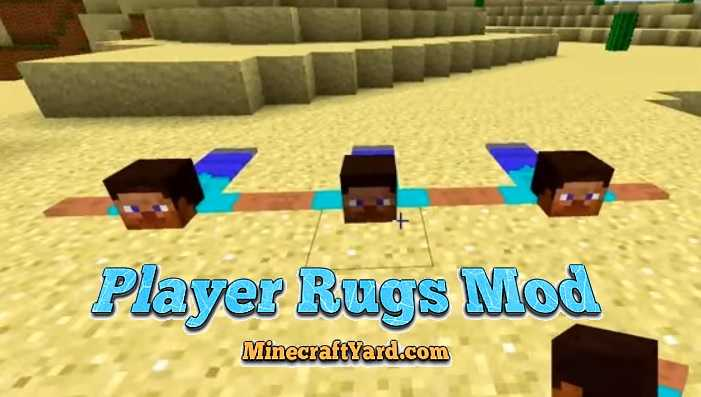 Player Rugs Mod 1.16.5/1.15.2