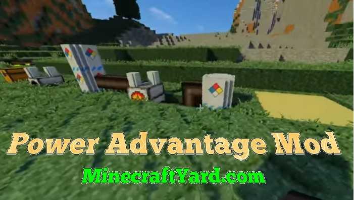 Power Advantage Mod 1.14/1.13.2/1.12.2/1.11.2