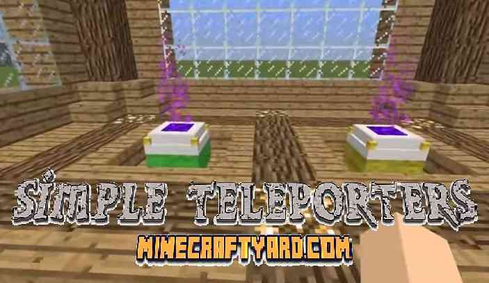 Simple Teleporters Mod 1.14/1.13.2/1.12.2/1.11.2