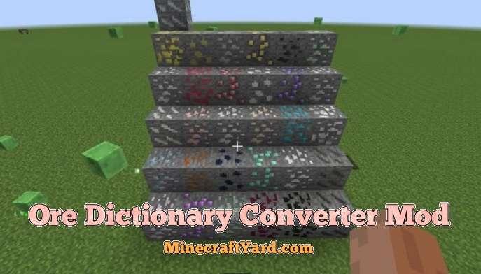 Ore Dictionary Converter Mod 1.16.5/1.15.2