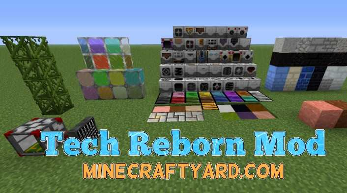 Tech Reborn Mod 1.14.4/1.13.2/1.12.2/1.11.2