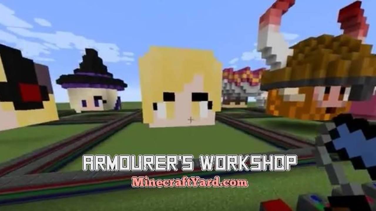 Armourer s Workshop Mod 1 16 5/1 15 2/1 14 4 (Armors) Minecraft