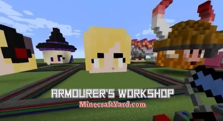 Armourer's Workshop 1.16.2/1.16.1/1.15.2
