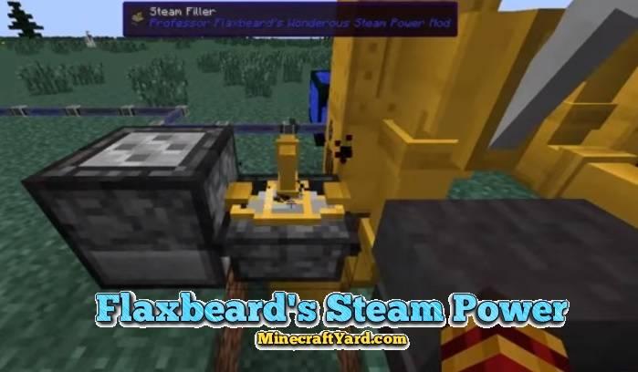 Flaxbeard's Steam Power 1.14/1.13.2/1.12.2/1.11.2