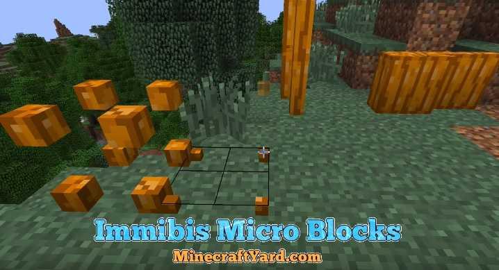 Immibis Micro Blocks Mod 1.16.5/1.15.2