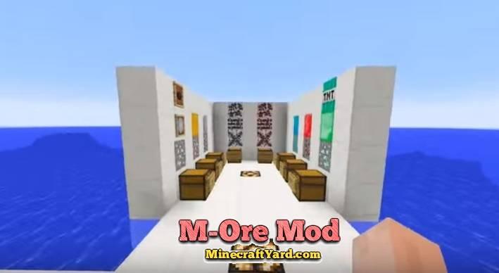 M-Ore Mod 1.16.2/1.16.1/1.15.2