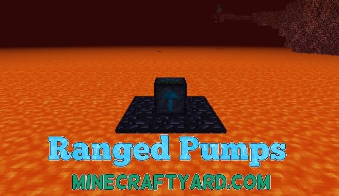 Ranged Pumps Mod 1.16.2/1.15.2