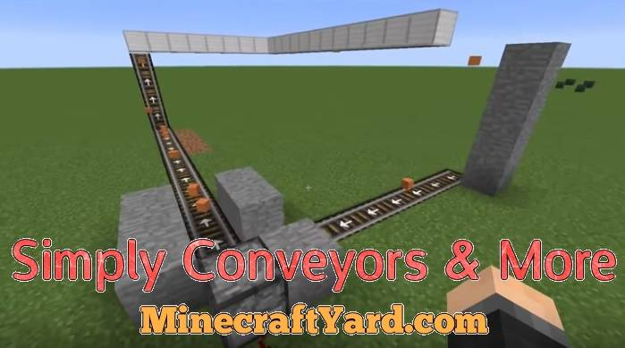 Simply Conveyors & More 1.14/1.13.2/1.12.2/1.11.2