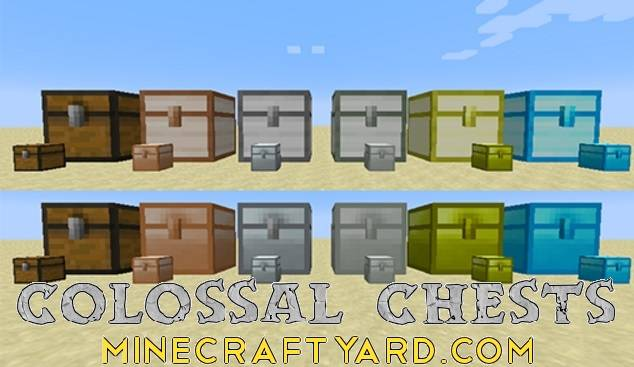 Colossal Chests 1.14/1.13.2/1.12.2/1.11.2
