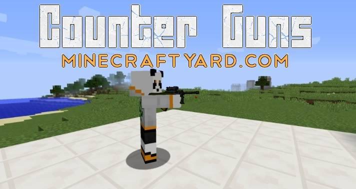 Counter Guns Mod 1.14/1.13.2/1.12.2/1.11.2