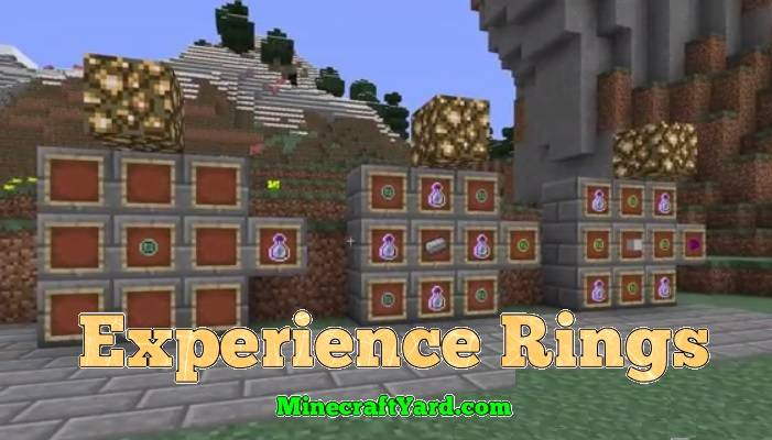 Experience Rings Mod 1.14/1.13.2/1.12.2/1.11.2