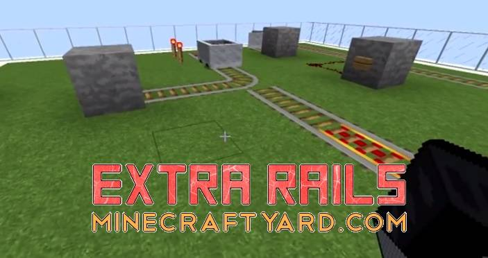 Extra Rails Mod 1.16.5/1.15.2