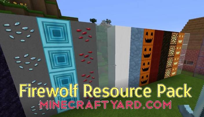 Firewolf Resource Pack 1.15.2/1.14.4/1.13.2/1.12.2/1.11.2/1.10.2