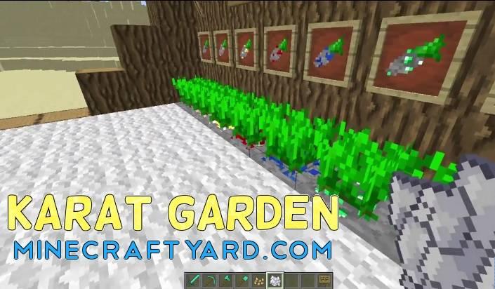 Karat Garden Mod 1.16.5/1.15.2