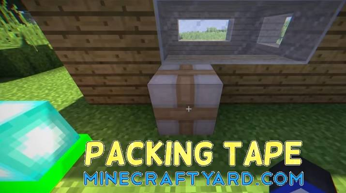 Packing Tape Mod 1.16.3/1.15.2