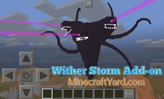Wither Storm Add-on 1.14.30/1.13.3/1.12.1/1.11.4
