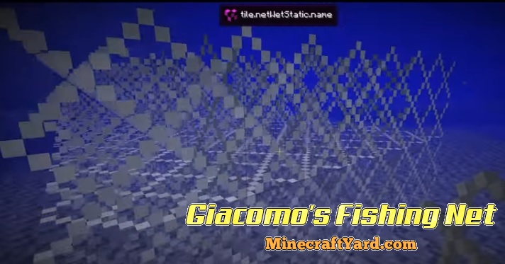 Giacomo's Fishing Net 1.16.5/1.15.2