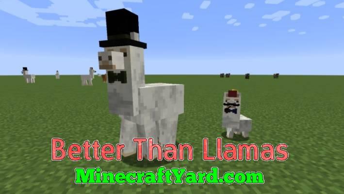 Better Than Llamas 1.14/1.13.2/1.12.2/1.11.2