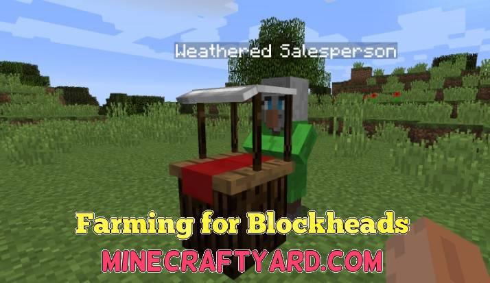 Farming for Blockheads 1.14/1.13.2/1.12.2/1.11.2