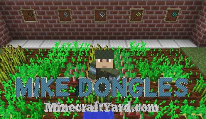 Mike Dongles Mod 1.14/1.13.2/1.12.2/1.11.2