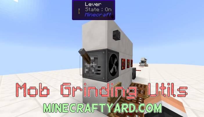 Mob Grinding Utils 1.16.5/1.15.2