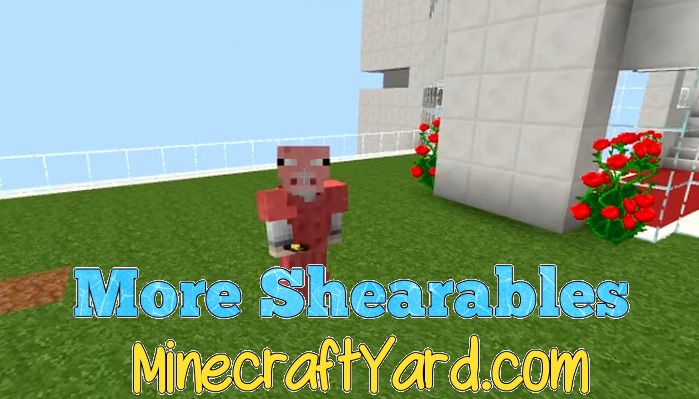 More Shearables Mod 1.16.3/1.15.2
