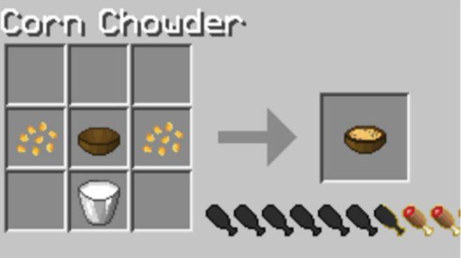 Simple Corn Mod Corn Chowder