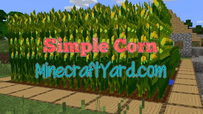 Simple Corn Mod 1.16.5/1.15.2