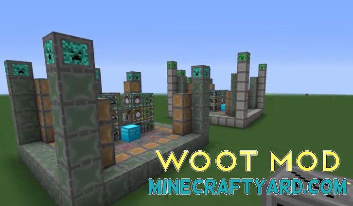 Woot Mod 1.14.3/1.13.2/1.12.2/1.11.2