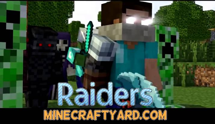 Raiders Mod 1.14/1.13.2/1.12.2/1.11.2
