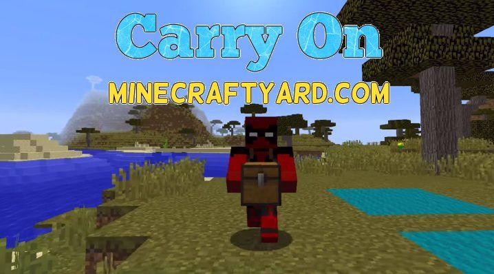 Carry On Mod 1 14 4/1 13 2/1 12 2/1 11 2/1 10 2 Minecraft
